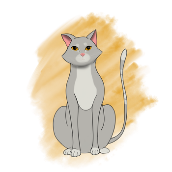 Cat by 7ain