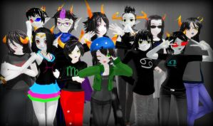 Homestuck - MMD by iNSaNiTY--sAnIty