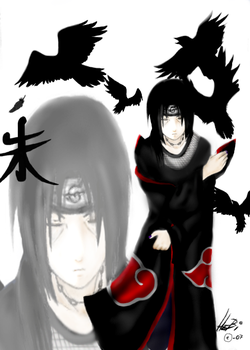 Itachi the storm crow Oo by Thanisan