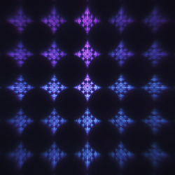 Circles And Diamonds by FractalSam