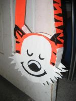 Duct Tape Hobbes Bag by oinkboinky