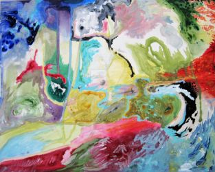 Abstract Painting 1 - 2009 by Nails43