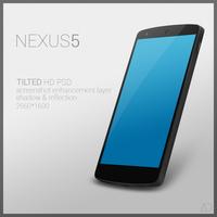 Nexus 5 : PSD [TILTED] by danishprakash