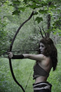 Faun in the Forest by AlyTheKitten