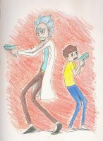 Rick and Morty by AlexisM96
