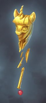 Scepter of mad princess by gor1ck