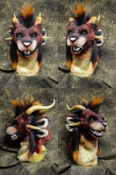 Shade the charr head by temperance
