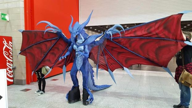 Bahamut Final Fantasy VIII Cosplay by calleymacleod