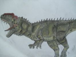 JP-Expanded  Yangchuanosaurus by Teratophoneus