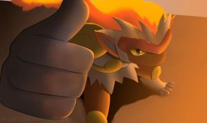 Infernape by All0412