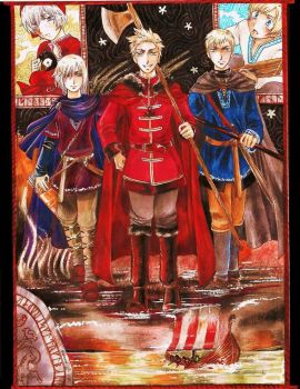 APH - The Vikings by CaeruleaLacus
