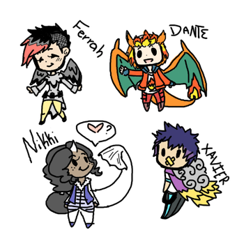 Chibi Dump by kitzune-griffith