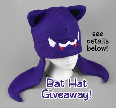 Bat Hat Giveaway -- Closed by SewDesuNe