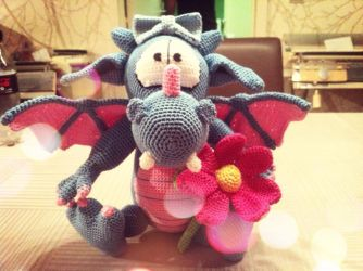 Dragon Amigurumi by Marik0