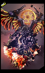 Bahamut By RG by Alliance-Graphique