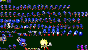 Metal Sonic in Sonic 2 - Metal Sonic by mike1967-now