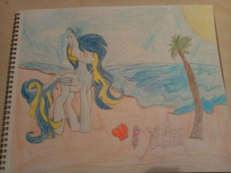 Burning at the Ocean by bellablossomyoutube