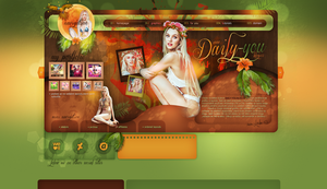Layout ft. Candice Swanepoel by PixxLussy