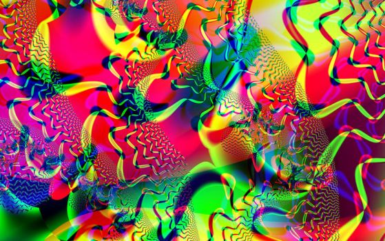 abstract 1 by kram666