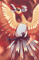 Pokemon Ho-oh by TunnelRunner