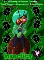 Insectica - Cimex Lectularius as Weevil Underwood by PlayboyVampire