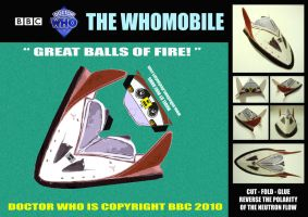 Doctor Who - The Whomobile by mikedaws