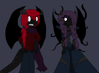 Poison And Venus in their Ultimate Forms by soniathehedgehog64