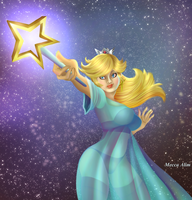 Princess Rosalina Showing... Off...0o0 by Kimeria87