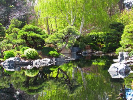 Japanese Garden 3 by Avalonanon