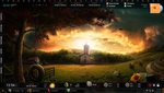 Rainmeter - Darkness Falls by iamshobhit