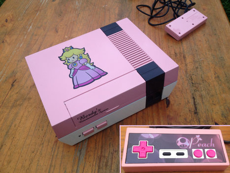 Peach NES by Hananas-nl