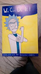 Rick Sanchez Can Do It !  by Tamalice