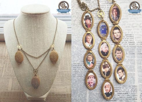 All of Time and Space - Doctor Who Locket by AetherWidgets