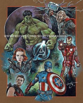 Avengers (2014). by scotty309