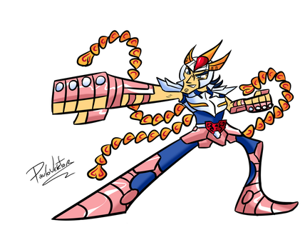 The Adventures of Phoenix Ikki!! by Paulovektor