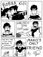 Mako's Only Friend by VictorySoup