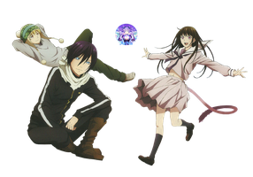 Noragami 07 Render by AeNa34