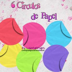 Paper Circles Png by loveelydesigns