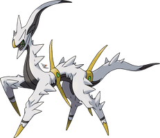 Arceus - Original One Forme by Xous54