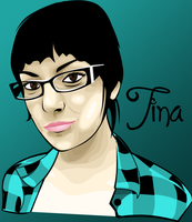 Tina from GG vector by cyantiffic