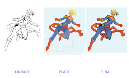 Flatter / Colorist For Hire by hughdidit