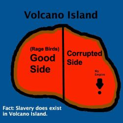 Volcano Island Map with Sides by Mario1998