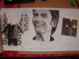 Doctor Who table spread 2 by padfoot2012