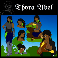 Character Sheet [Thora] by NewbzRV