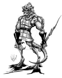 The Gorn by OuthouseCartoons