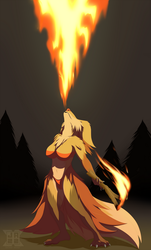 She's On Fire by JazzaX