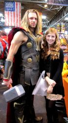 Me with Thor :D by Hattiart