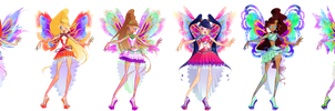 Winx Club - Enix Transformation by Feeleam