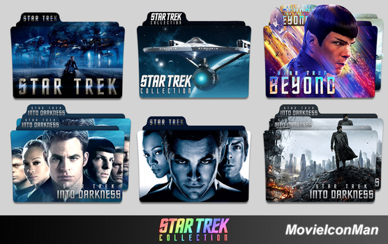 Star Trek Collection Folder Icon Pack by MovieIconMan