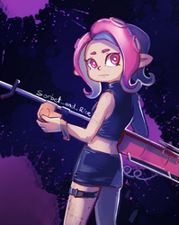 Agent 8 by Lubrian